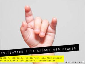 Initiation Langue des Signes pour bébé