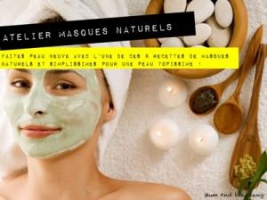 atelier à domicile masque naturel