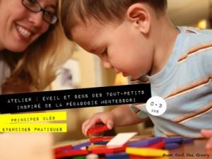 ateliers d'éveil pédagogie montessori