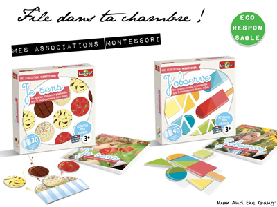 jeu d'associations montessori