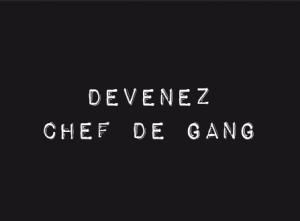 chef de gang : vendeuse à domicile d'articles de puericulture